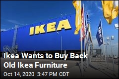 Ikea Wants to Buy Back Old Ikea Furniture