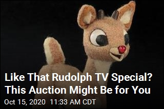 Rudolph From 1964 Special Is Up for Auction