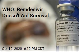 WHO: Remdesivir Doesn't Aid Survival