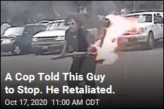 Things Get Ugly When Cop Encounters This Guy