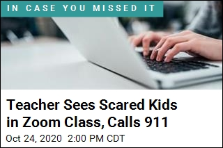 Teacher Sees Scared Kids in Zoom Class, Calls 911