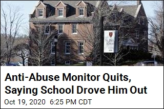Abuse Settlement Monitor Says School Worked Against Him