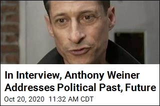 In Interview, Anthony Weiner Addresses Political Past, Future
