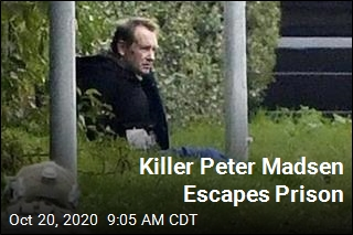 Killer Peter Madsen Escapes Prison