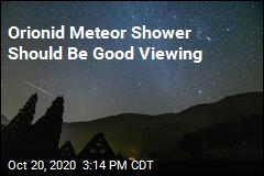 Orionid Meteor Shower Should Be Good Viewing