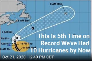 Atlantic Gets Its 10th Hurricane of the Season