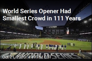 World Series Opener Had Smallest Crowd Since 1909