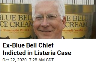 Ex-Blue Bell Chief Indicted in Listeria Case