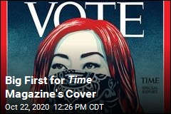 In a First, Time Magazine Cover Doesn't Say 'Time'