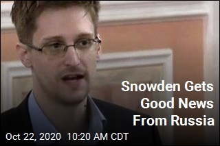 Snowden Can Stay in Russia Permanently