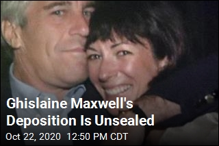Ghislaine Maxwell's Deposition Is Unsealed