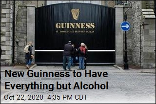 Guinness Rolls Out Alcohol-Free Version