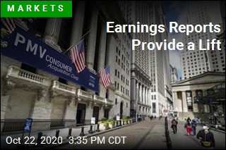 Earnings Reports Provide a Lift
