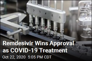 Remdesivir Wins Approval as COVID-19 Treatment