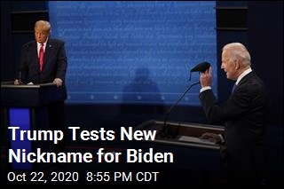 Trump Tests New Nickname for Biden