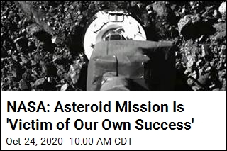 NASA: Asteroid Mission Is 'Victim of Our Own Success'