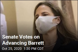 Senate Votes on Advancing Barrett