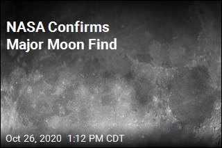 NASA Confirms Major Moon Find
