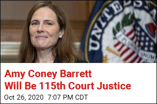 Amy Coney Barrett Wins Confirmation