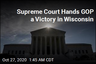 Supreme Court Hands GOP a Victory in Wisconsin