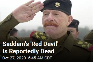 Saddam's 'Red Devil' Is Reportedly Dead