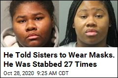 He Told Sisters to Wear Masks. He Was Stabbed 27 Times
