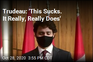 Trudeau: 'This Sucks. It Really, Really Does'