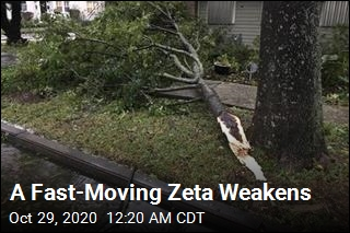 Zeta Weakens to Tropical Storm After Battering Gulf Coast