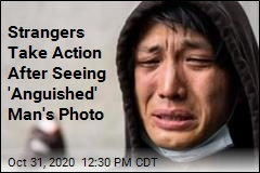 'Anguished' Photo Moves Strangers to Take Action