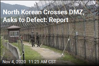 North Korean Crosses DMZ, Asks to Defect: Report