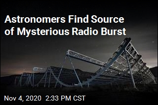 Astronomers Find Source of Mysterious Radio Burst