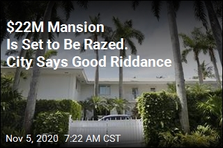 Epstein's 'Bad Energy' Mansion to Be Demolished