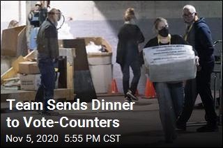 Dinner for Vote-Counters Was on the Steelers