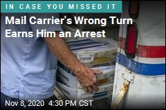 Mail Carrier's Wrong Turn Earns Him an Arrest