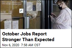 October Jobs Report Stronger Than Expected