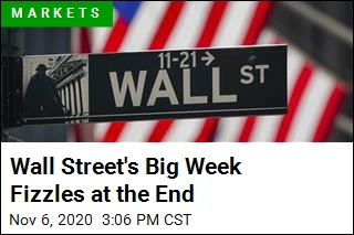 Wall Street's Big Week Fizzles at the End