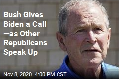 Bush Gives Biden a Call —as Other Republicans Speak Up