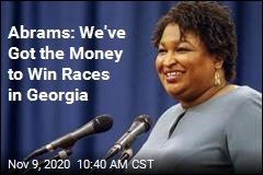 Stacey Abrams Raising Big Money for Georgia Races
