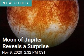 Scientists Discover Surprise About Jupiter's Icy Moon
