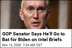 GOP Senator on Biden Not Getting Intel Briefs: I'll 'Step In'