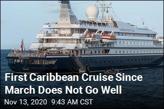 First Caribbean Cruise Since March Does Not Go Well