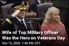 Wife of Top Military Officer Was the Hero on Veterans Day