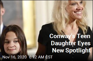 Conway Daughter Aims for New Spotlight