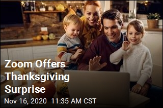 Zoom Offers Thanksgiving Surprise