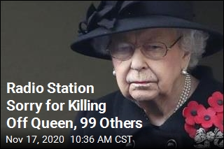 Radio Station Sorry for Killing Off Queen, 99 Others