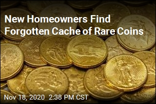 Homeowners Find $25K Cache of Coins