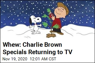 Whew: Charlie Brown Specials Returning to TV