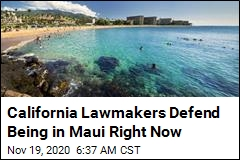 California Lawmakers Defend Being in Maui Right Now