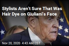 Stylists Have Things to Say About Giuliani's TV Drip