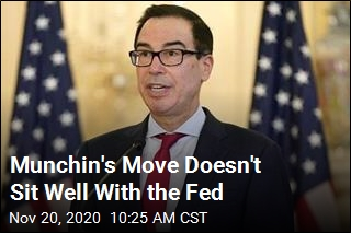 Munchin's Move Doesn't Sit Well With the Fed
